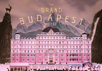 """La locandina del film """"Grand Budapest Hotel"""""""