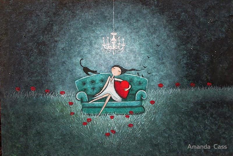 Pittura e scultura Amanda-Cass.gato_