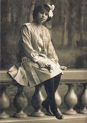 La piccola Irène Némirovsky