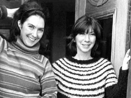 Kate a sinistra e Anna