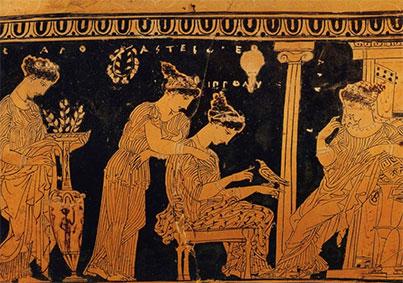 Preparativi nuziali ad Atene