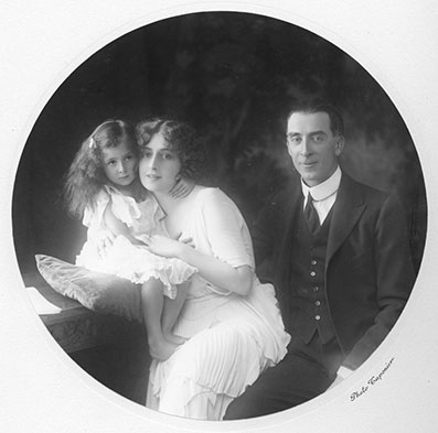 Sveva, Ofelia e Leone Caetani