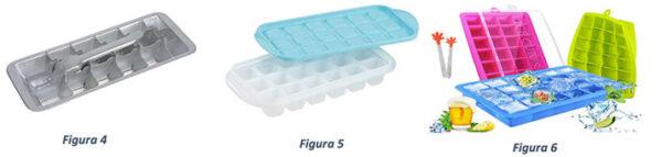 vaschette del ghiaccio