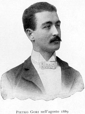 Pietro Gori nell'agosto 1889