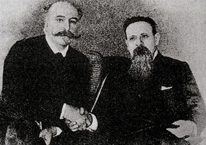 Matteo R. Imbriani e Giovanni Bovio