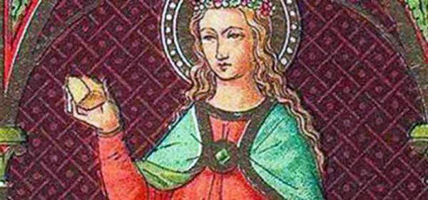 Santa Bislacca mentre tira un sasso a San Proto