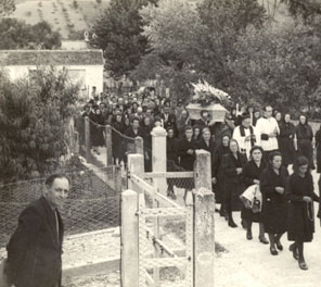 funerale in paese