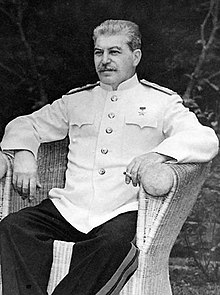 Iosif Vissarionovič Džugašvili, Stalin