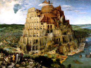 Pieter Bruegel il Vecchio La Torre di Babele